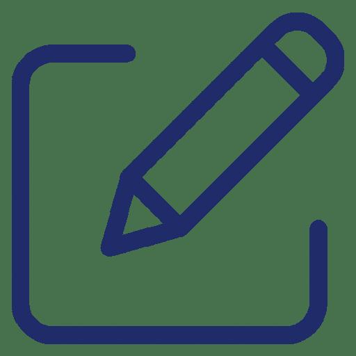 medical writing icon